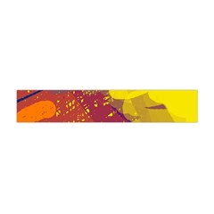 Colorful abstract pattern Flano Scarf (Mini)