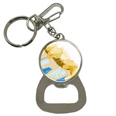 Artistic pastel pattern Bottle Opener Key Chains