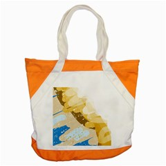 Artistic pastel pattern Accent Tote Bag