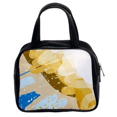 Artistic pastel pattern Classic Handbags (2 Sides)