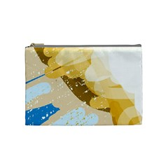 Artistic pastel pattern Cosmetic Bag (Medium)