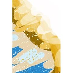 Artistic pastel pattern 5.5  x 8.5  Notebooks