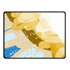 Artistic pastel pattern Fleece Blanket (Small)