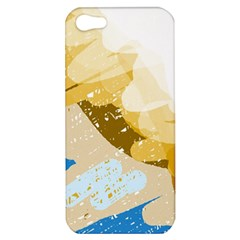 Artistic pastel pattern Apple iPhone 5 Hardshell Case