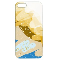 Artistic pastel pattern Apple iPhone 5 Hardshell Case with Stand