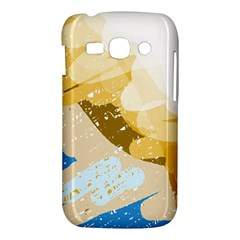 Artistic pastel pattern Samsung Galaxy Ace 3 S7272 Hardshell Case