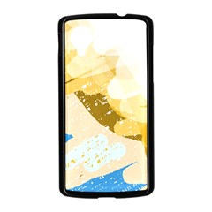 Artistic pastel pattern Nexus 5 Case (Black)