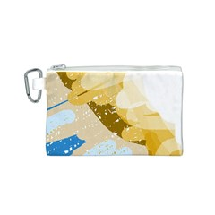 Artistic pastel pattern Canvas Cosmetic Bag (S)