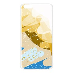 Artistic pastel pattern Apple Seamless iPhone 6 Plus/6S Plus Case (Transparent)