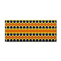 Hearts and rhombus pattern                                                                                          Hand Towel