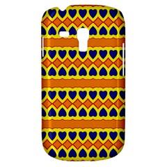 Hearts And Rhombus Pattern                                                                                         samsung Galaxy S3 Mini I8190 Hardshell Case