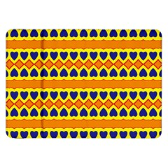 Hearts and rhombus pattern                                                                                         			Samsung Galaxy Tab 8.9  P7300 Flip Case