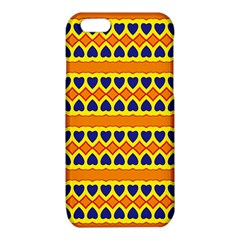 Hearts and rhombus pattern                                                                                         iPhone 6/6S TPU Case