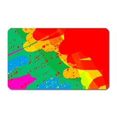 Colorful abstract design Magnet (Rectangular)