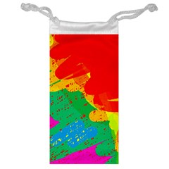 Colorful abstract design Jewelry Bags