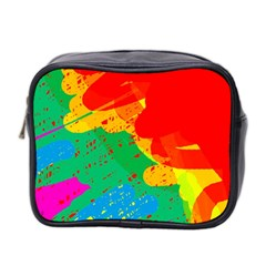 Colorful abstract design Mini Toiletries Bag 2-Side