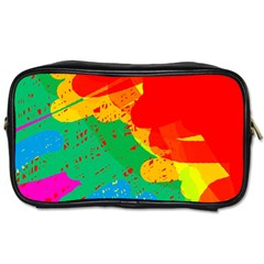 Colorful Abstract Design Toiletries Bags 2 Side