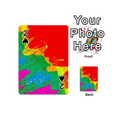 Colorful abstract design Playing Cards 54 (Mini)