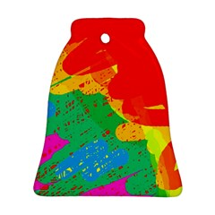 Colorful abstract design Ornament (Bell)