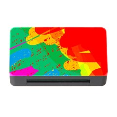 Colorful abstract design Memory Card Reader with CF