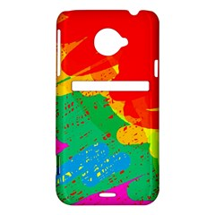 Colorful abstract design HTC Evo 4G LTE Hardshell Case
