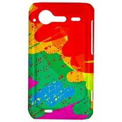 Colorful abstract design HTC Incredible S Hardshell Case