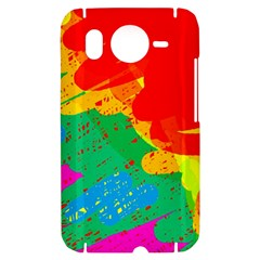 Colorful abstract design HTC Desire HD Hardshell Case