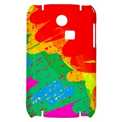 Colorful abstract design Samsung S3350 Hardshell Case