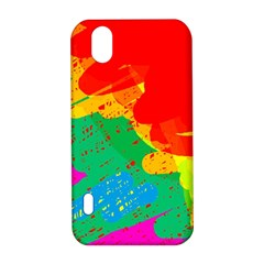 Colorful abstract design LG Optimus P970