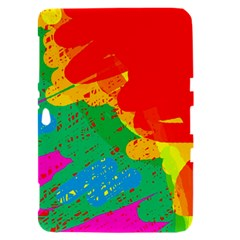 Colorful abstract design Samsung Galaxy Tab 8.9  P7300 Hardshell Case