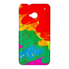 Colorful abstract design HTC One M7 Hardshell Case
