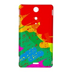 Colorful abstract design Sony Xperia TX