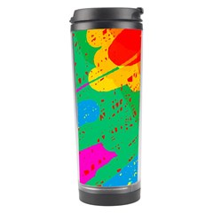 Colorful abstract design Travel Tumbler