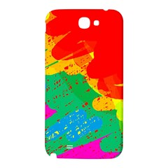 Colorful abstract design Samsung Note 2 N7100 Hardshell Back Case