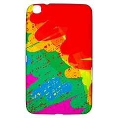 Colorful abstract design Samsung Galaxy Tab 3 (8 ) T3100 Hardshell Case