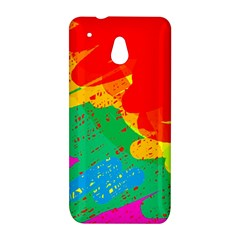 Colorful abstract design HTC One Mini (601e) M4 Hardshell Case