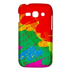 Colorful abstract design Samsung Galaxy Ace 3 S7272 Hardshell Case