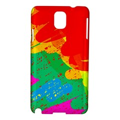 Colorful abstract design Samsung Galaxy Note 3 N9005 Hardshell Case