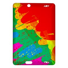 Colorful abstract design Amazon Kindle Fire HD (2013) Hardshell Case