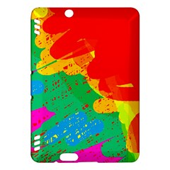 Colorful abstract design Kindle Fire HDX Hardshell Case