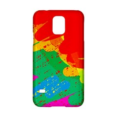 Colorful abstract design Samsung Galaxy S5 Hardshell Case