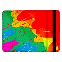 Colorful abstract design Samsung Galaxy Tab Pro 12.2  Flip Case