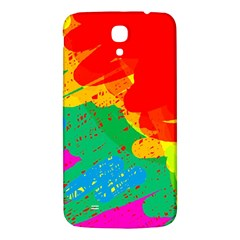 Colorful abstract design Samsung Galaxy Mega I9200 Hardshell Back Case