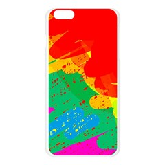 Colorful abstract design Apple Seamless iPhone 6 Plus/6S Plus Case (Transparent)