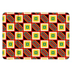 Squares and rectangles pattern                                                                                         Samsung Galaxy Tab 8.9  P7300 Flip Case