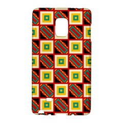 Squares and rectangles pattern                                                                                         			Samsung Galaxy Note Edge Hardshell Case