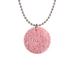 Elegant pink pattern Button Necklaces