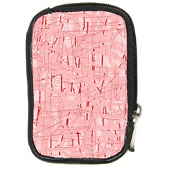 Elegant pink pattern Compact Camera Cases