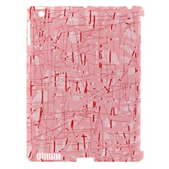 Elegant pink pattern Apple iPad 3/4 Hardshell Case (Compatible with Smart Cover)