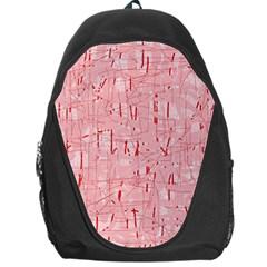 Elegant pink pattern Backpack Bag
